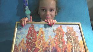 ไม่หมดกำลังใจ เคท สาวน้อยป่วยโรคกล้ามเนื้ออ่อนแรง แต่ใจรักสร้างสรรค์ศิลปะ