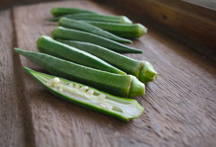 กระเจี๊ยบเขียว ผักพื้นบ้าน ช่วยลดน้ำตาลในเลือด ต้านโรคเบาหวาน