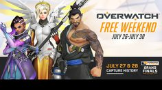 Overwatch เล่นฟรี (อีกแล้ว) 26-30 กรกฎาคมนี้ เฉพาะ PC เท่านั้น