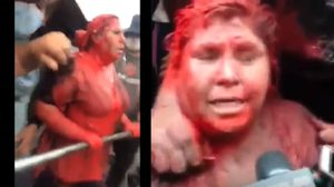 อย่างโหด! ผู้ประท้วงโบลิเวีย จับนายกเทศมนตรีหญิง กล้อนผม ลากไปตามถนน