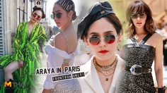 อัพเดทลุค ฟรอนต์โรว์ ชมพู่ อารยา ในปารีสแฟชั่นวีค แต่ละชุดจัดแบรนด์แน่นๆ