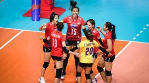 ทีมลูกยางสาวไทย ตบเด็ดขาดเอาชนะ เซอร์เบีย 3 เซตรวด ศึก เนชั่นส์ ลีก สนามสี่
