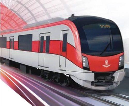 รถไฟชานเมือง สายสีแดง และรถไฟความเร็วสูงเชื่อม 3 สนามบิน