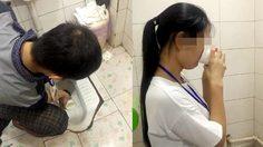 แค่คิดก็จะอ้วกแล้ว!! สองพนักงานสุดซวยในประเทศจีน ถูกลงโทษให้ดื่มน้ำจาก โถส้วม