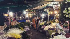 Thailand's largest flower market to be wiped away soon