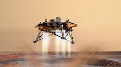 """นาซาส่ง """"ยานสำรวจอินไซต์"""" ลงจอดบนดาวอังคารได้สำเร็จ"""