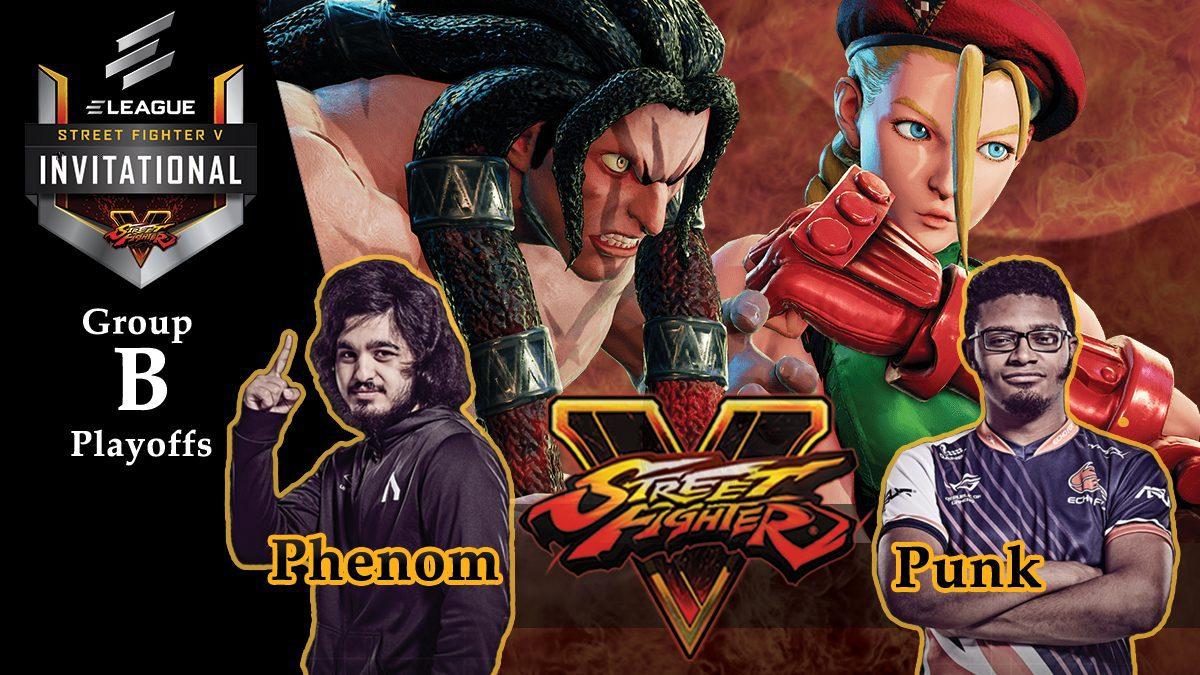 การแข่งขัน Street Fighter V | ระหว่าง Punk vs Phenom [Group B]