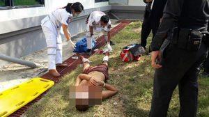 ระทึก! 2 นักโทษพัทยาโหด รุมกระทืบตำรวจสลบคาที่ ก่อนโดดหน้าต่างหนีขาหัก
