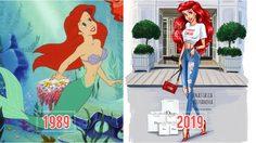 ศิลปินสาวรัสเซีย เปลี่ยนเจ้าหญิงดิสนีย์ลุคเดิมๆ เป็นสาวโมเดิร์นยุคใหม่!!