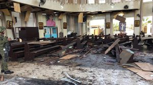 คนร้ายก่อเหตุระเบิดโบสถ์คริสต์ในฟิลิปปินส์ดับ 20 เจ็บ 81