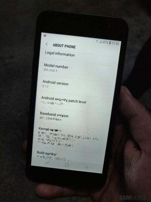 เวอร์ชั่น Android ของ Samsung Android Go