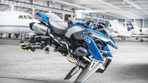 HOVER BIKE ต้นแบบ ยานพาหนะบินได้ นวัตกรรม ใหม่จาก BMW