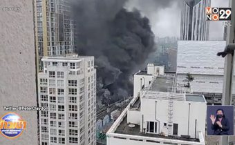 เพลิงไหม้สถานีรถไฟในกรุงลอนดอน