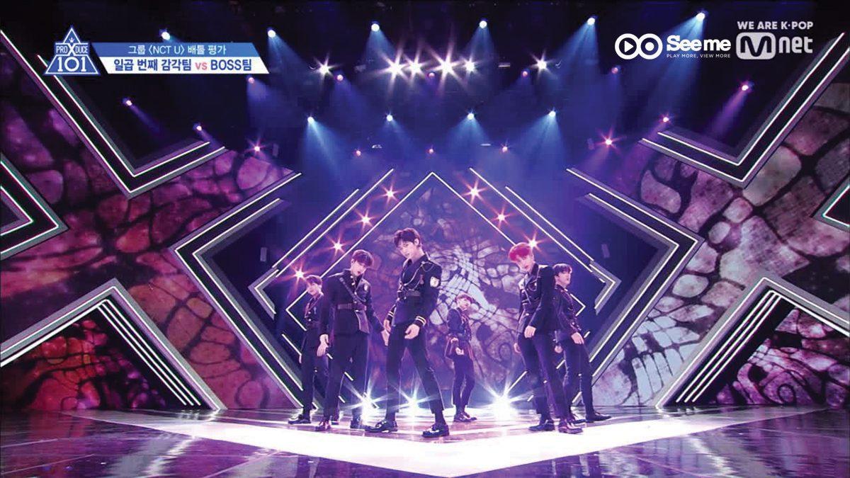 PRODUCE X 101 ㅣทีม YELLOWPINK - NCT U ♬BOSS @การแข่งขันรอบ Group Battle [EP.4]