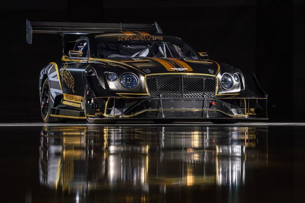 The Continental GT3 Pikes Peak
