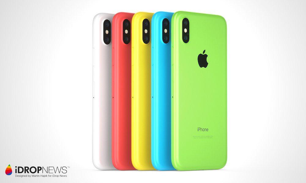 สีที่คาดว่าจะมาใน iPhone จอ LCD 6.1