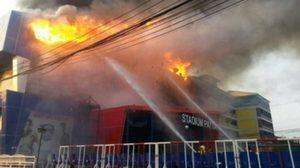 ช่อง 8 ยันยิงสด มวยไทยต่อ แม้เวทีถูกไฟไหม้