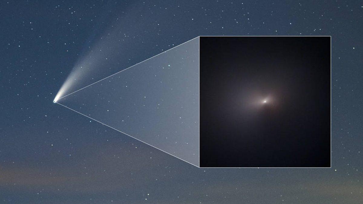 ภาพถ่ายระยะใกล้ ดาวหางนีโอไวส์ อีก 7,000 ปี พบกันใหม่อีกครั้ง!