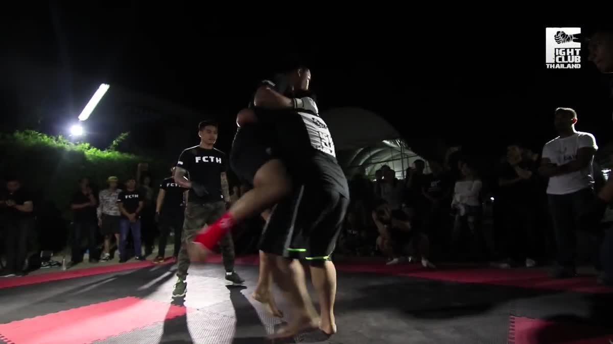 FIGHT CLUB THAILAND สำเพ็งสองCross bone ป็อบ ลิกิชิ(Pop Rikishi) x บิ๊ก(Mr.Big) คู่ที่263.mp4