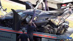 Koenigsegg 1 พังยับหลังเกิดอุบัติเหตุที่สนาม Nurburgring