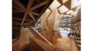 อาร์ตตั้งแต่อาคารเรียน! สตูดิโอ คณะสถาปัตย์ สุดเท่ โดย สถาปนิกมากฝีมือNader Tehrani