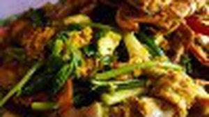 เรือนอาหาร ครัวทะเล สะพานหลวง เมืองชลบุรี