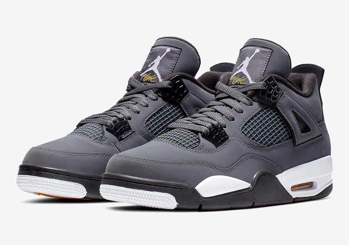 Air Jordan 4 Cool Gray