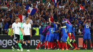 ผลบอล : อินทรี..ปีกหัก!! กรีซมันน์ เหมาสองพา ฝรั่งเศส ทุบ เยอรมัน เข้าชิงยูโร2016