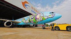ฟินยกลำ! เครื่องบิน Toy Story จาก China Eastern Airlines