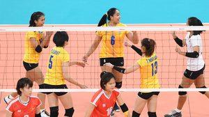 ลูกยางสาว ทีมชาติไทย ปิดจ็อบ เวียดนาม 3 เซตรวด คว้าทอง ซีเกมส์ 12 สมัยติดต่อกัน