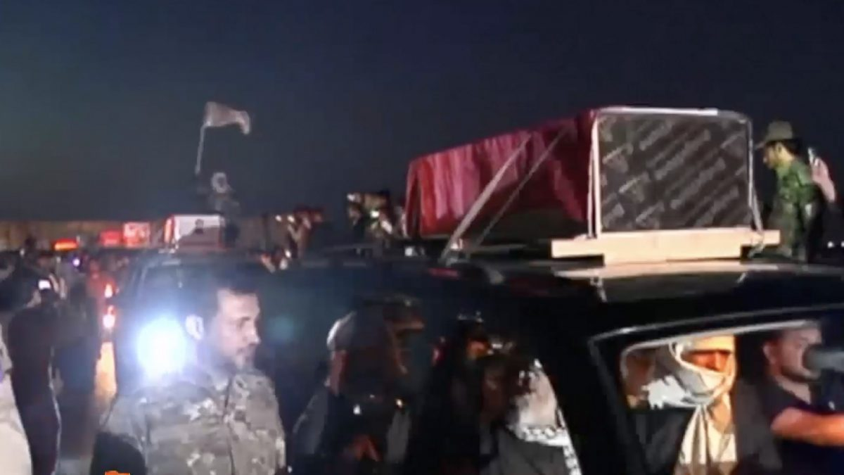 อิรักจัดพิธีฝังศพหมู่นักรบ 16 คน