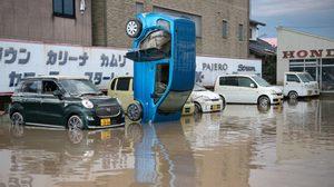 น้ำท่วมญี่ปุ่นรุนแรงสุดในรอบ 35 ปี ตายแล้ว 126 ราย