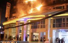 ไฟไหม้โรงแรมดังเมืองพัทยานักท่องเที่ยวนับร้อยหนีตาย