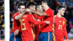 ผลบอล : สเปน vs บอสเนีย !! เมนเดส ประเดิมซัดชัยพา กระทิงดุ เฉือนหวิว บอสเนีย 1-0