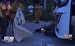 รถบัสพุ่งชนรถจักรยานยนต์เสียชีวิต 2 คน