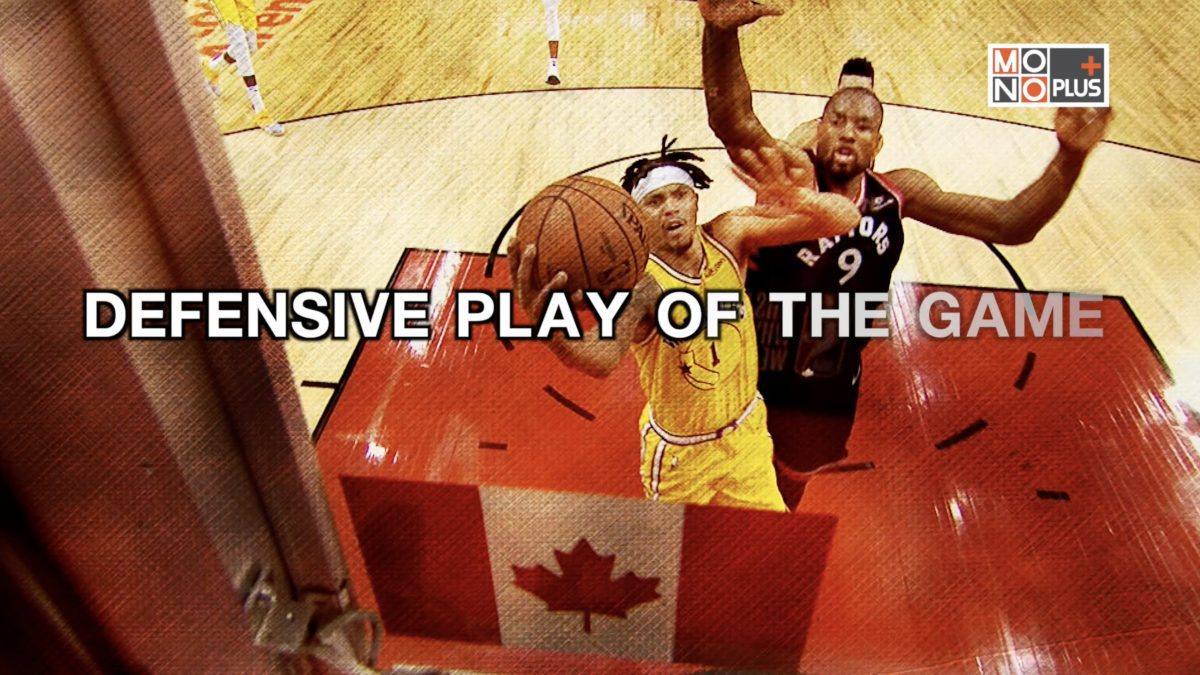 DEFENSIVE PLAY OF THE GAME