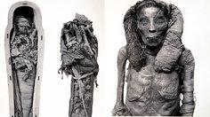 สุดหลอน! ภาพหาดูยาก มัมมี่ อียิปต์โบราณ แบบไม่มีผ้าพัน