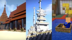 """เกมเมอร์ไทย สรรสร้าง""""วัฒนธรรมไทย"""" ผ่านเกมส์ Minecraft"""