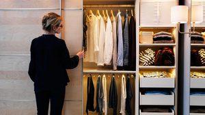 3 เทคนิคจัดสรรพื้นที่ใน ตู้เสื้อผ้า ให้ลงตัวอย่างง่ายๆ