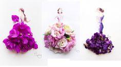 แฟชั่น และ ศิลปะจากกลีบดอกไม้
