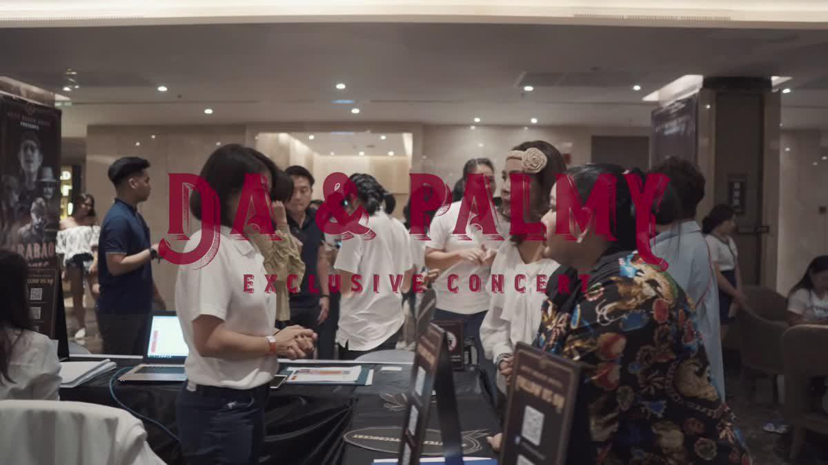 ดา – ปาล์มมี่ เตรียมขนเพลงฮิต  เสิร์ฟความสนุกใน Da & Palmy Exclusive Concert