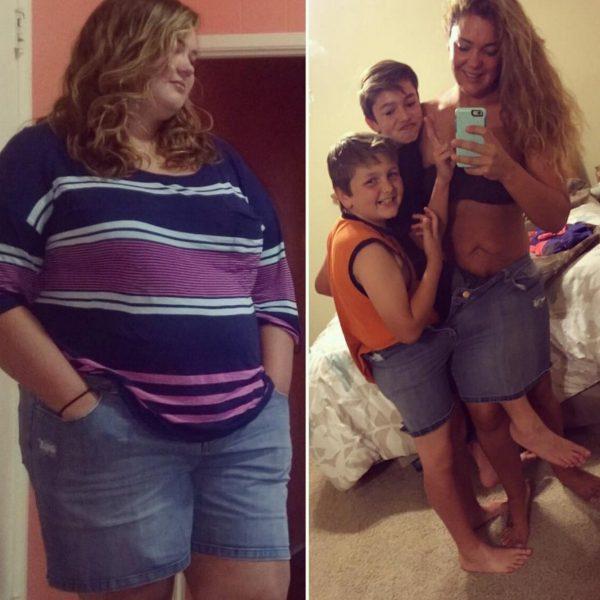 Justine Mccabe ลดน้ำหนัก