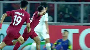 สกอร์นึกว่าฟุตซอล! ชมคลิป กาตาร์ สอย อินโดนีเซีย 6-5 ศึกชิงแชมป์เอเชีย ยู-19
