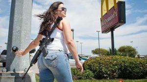 ภาพรัฐเท็กซัส หลังเต็มไปด้วยคนถือปืน!!