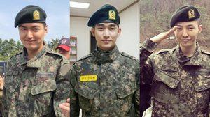 รวมดาราศิลปินเกาหลีใต้ ที่จะปลดประจำการทหาร