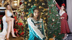 20 ไอเดียถ่ายรูป กับต้นคริสมาสต์ โพสต์ท่ายังไง ใส่ชุดสีอะไรดี?