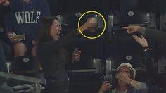 เหนือชั้นเกิ๊น! ชมแฟน เบสบอล สาวหยุดลูกบอลด้วยแก้วน้ำ (คลิป)