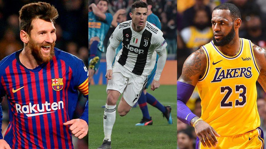 Cristiano Ronaldo คว้าอันดับ 1 นักกีฬาที่มีชื่อเสียงที่สุดในโลกปี 2019 ของ ESPN
