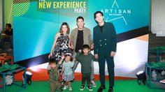 """โตโน่-ครอบครัวกาย รัชชานนท์ ร่วมงาน """"The New Experience Party"""" ฉลองยอดขายอาร์ติซาน รัชดา"""