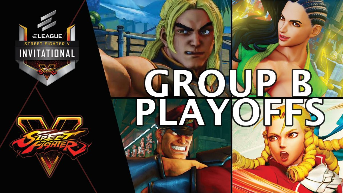 การแข่งขัน Street Fighter V Invitational 2018 | Group B [1/2]